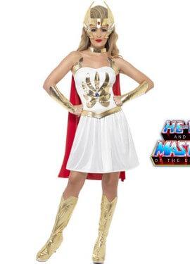 Disfraz de She-Ra hermana de He-Man para Mujer