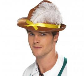 Sombrero de Bávaro con Pluma para Oktoberfest