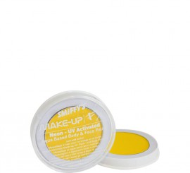 Maquillaje al Agua Fluorescente color Amarillo 8 ml