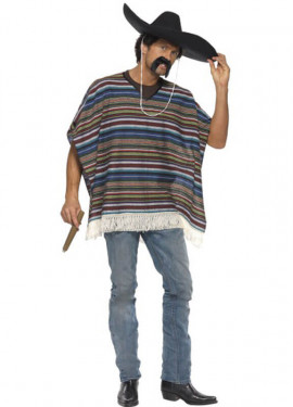 Authentique poncho mexicain