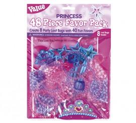 48 Juguetes de las Princess con bolsas para cumpleaños