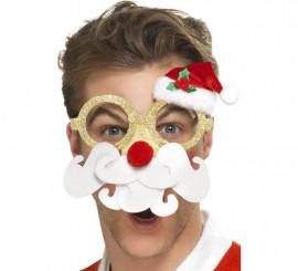 Gafas de Santa Claus para Navidad