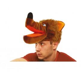 Sombrero o Gorro de Lobo marrón