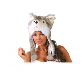 Gorro o Sombrero de Perro Husky Siberiano
