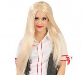 Perruque Blonde de Collégienne, écolière