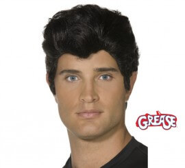 Peluca de Danny Zuko de Grease adulto