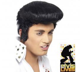 Peluca de Elvis adulto deluxe