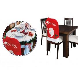 Funda respaldo para silla en Navidad