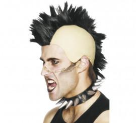 Peluca Punk Cresta Mohicana