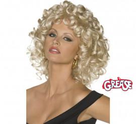 Peluca de Sandy de Grease para mujer