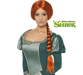 Peluca de la Princesa Fiona de Shrek para Mujer