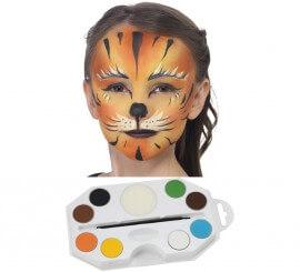 Kit Maquillage à l'eau Animaux de 8 coloris