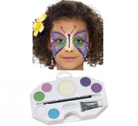 Kit Maquillage à l'eau Princesse de 6 coloris et Paillettes