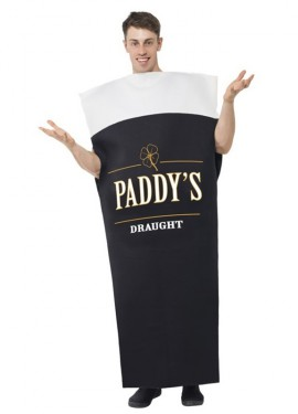 Disfraz Cerveza Paddys Draught para Hombre talla M