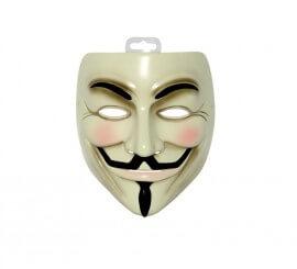 Máscara de V de Vendetta para Halloween