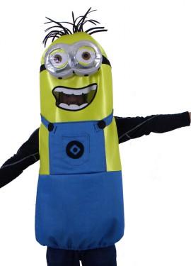 Disfraz de Cápsula Amarilla con 2 ojos para adultos