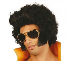 Perruque Elvis Extra