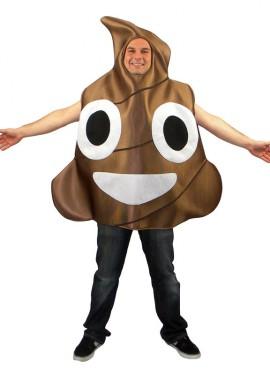 Disfraz de Icono Caca marrón de Whasa para adultos
