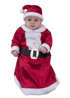 Disfraz o Saquito de Papá Noel para Bebés