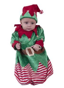 Disfraz o Saquito de Elfo para Bebés