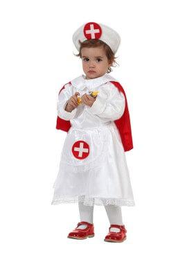 Disfraz de Enfermera para niñas de 12 a 24 meses