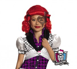 Peluca de Operetta de las Monster High para niñas
