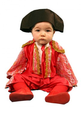 Disfraz de Torero para bebés de 12 a 24 meses