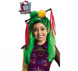 Peluca de Jinafire Long de las Monster High para niñas