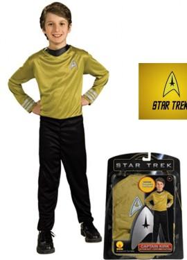 Déguisement de Kirk Star Trek pour enfants de 5 à 7 ans