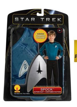 Disfraz de Spock de Star Trek para niños de 5 a 7 años