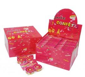 Bolsa de 2 Frisbee de confeti de 7 cms. diámetro
