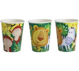 Pack de 8 Vasos de 25 cl. de Safari