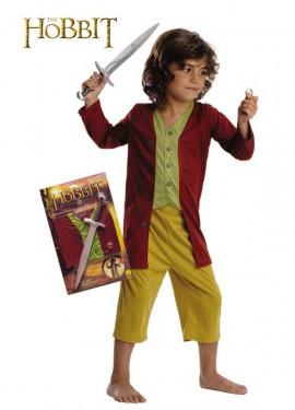 Disfraz de Bilbo Baggins del Señor de lo Anillos 5 a 7 años