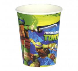 Pack de 8 Vasos de 25 cl. de las Tortugas Ninja Mutantes