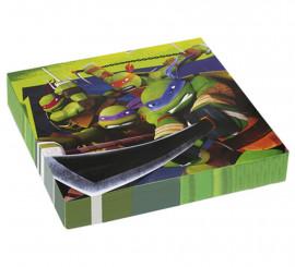 Bolsa de 20 Servilletas de las Tortugas Ninja Mutantes