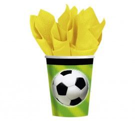 Pack de 8 Vasos de Championship Soccer de 266 ml.