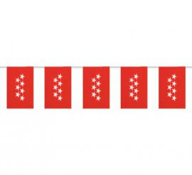 Bolsa de 50m. Bandera de C. Madrid de plástico