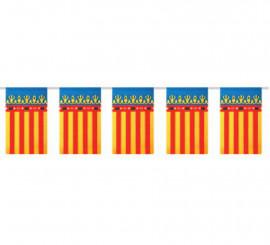 Bolsa de 50m. Bandera de C. Valenciana de plástico