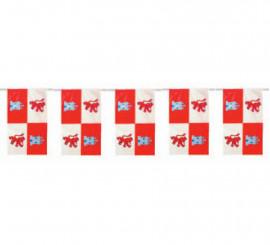 Bolsa de 50m. Bandera de Castilla León de plástico