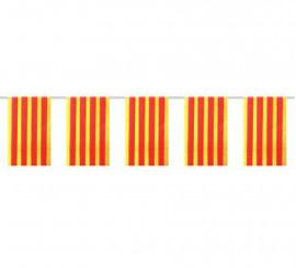 Bolsa de 50m. Bandera de Cataluña de plástico