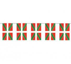 Bolsa de 50m. Bandera de Euskadi de plástico