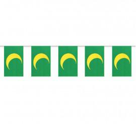 Bolsa de 50m. Bandera Mora de plástico
