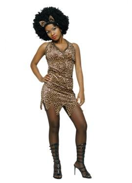 Déguisement Troglodyte Sexy Afrique pour Femme