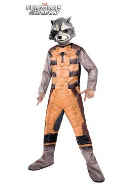 Disfraz Rocket Raccoon Classic para Niño