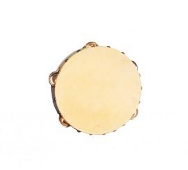 Pandereta de piel de 16.5 cm
