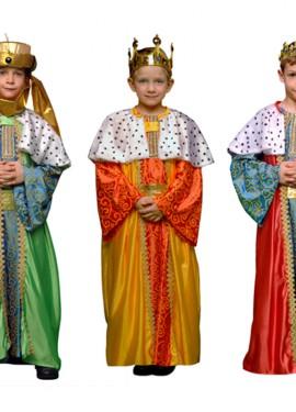 Disfraz de Rey Mago 10-12 años para niño