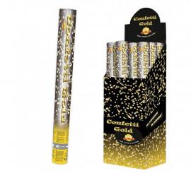 Canon de confettis métalliques multicolores de 40 cm pour fêtes