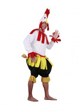 Disfraz de Gallo para hombre talla M-L