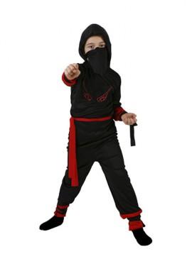 Disfraz de Guerrero Ninja rojo para niños