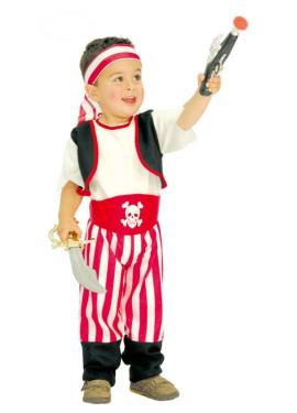 Déguisement Pirate Baby pas cher de 2 à 4 ans pour Carnaval
